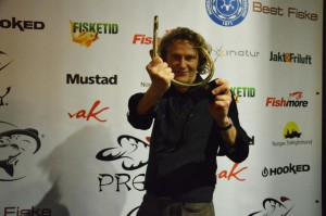 Lars Nilsen mottar Gullkroken