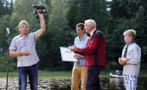 Arne Nævra mottar Friluftslivets Hederspris