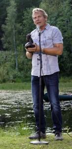 Arne Nævra mottar prisen